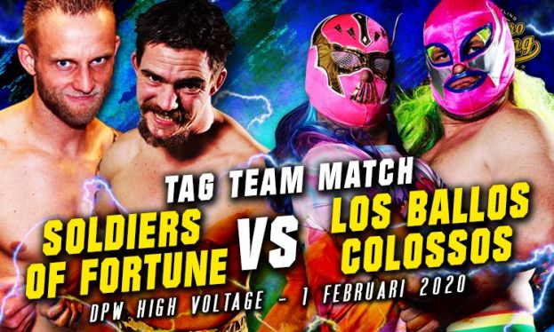 HIGH VOLTAGE 2020 - SOF VERSUS LBC - TAG TEAM ACTION