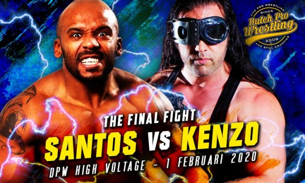 HIGH VOLTAGE 2020 - SANTOS VERSUS KENZO RICHARDS - SANTOS'S LAST MATCH!