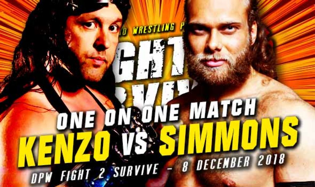 FIGHT 2 SURVIVE 2018 - KENZO RICHARDS VERSUS JURN SIMMONS – REMATCH: BATTLE OF THE PILEDRIVERS!