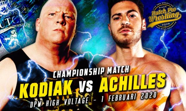 HIGH VOLTAGE 2020 - MARK KODIAK VERSUS AARON ACHILLES – TITLE MATCH