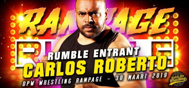 CARLOS ROBERTO JOINS COHIBA'S CABANA AND THE RAMPAGE RUMBLE! ENTRANT # 13