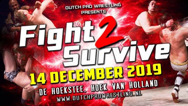 FIGHT 2 SURVIVE 2019 - CODY HALL IS COMING TO DUTCH PRO WRESTLING!